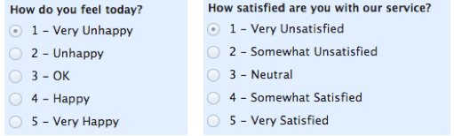 Example Of Ordinal Scales My Market Research Methods