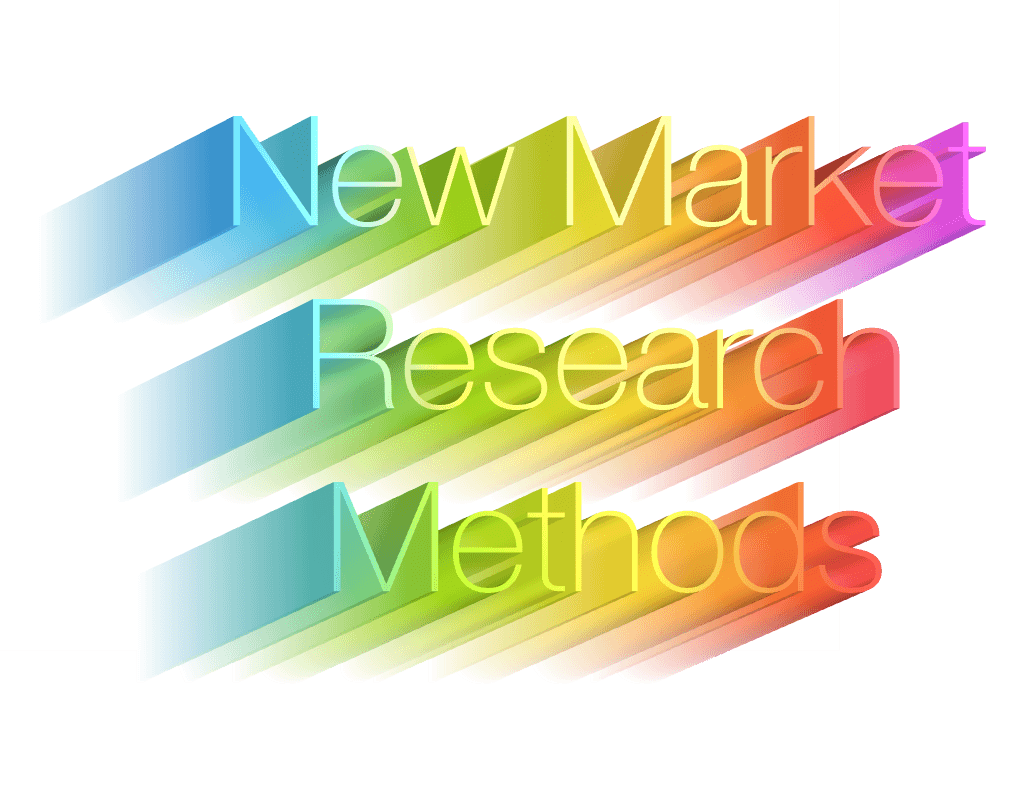 new market research methods and techniques for today